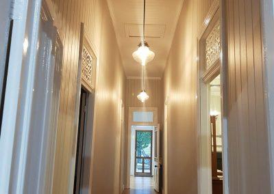 Decorative lights installation